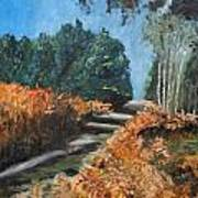 Paesaggio Art Print by Niki Mastromonaco