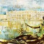 Palace And Park Of Versailles Art Print