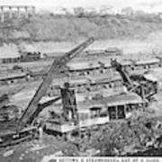 Panama Canal, 1910s Art Print