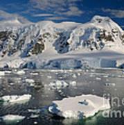 Paradise Bay, Antarctica Art Print