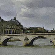Paris 3 Art Print
