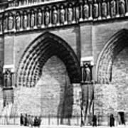 Paris Notre Dame, 1918 Art Print