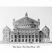 Paris Opera - 1875 Art Print
