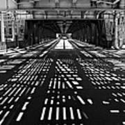 Patterns Of Light Art Print