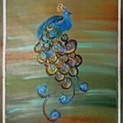 Peacock Xi Art Print