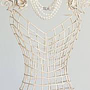 Pearls Art Print