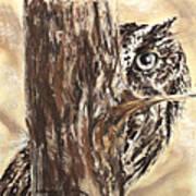 Peek A Who Art Print