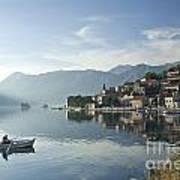Perast Village In Montenegro Art Print