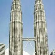 Petronas Twin Towers In Malaysia Art Print
