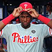 Philadelphia Phillies V Atlanta Braves Art Print