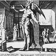 Physician As Devil Art Print