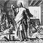 Physician As God Art Print