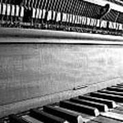 Piano Art Print by Thomas Leon