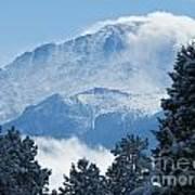 Pikes Peak Colorado Art Print