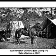 Pinkerton Man Art Print