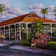 Pioneer Inn Lahaina Art Print