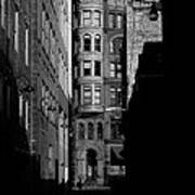Pioneer Square Alleyway Art Print