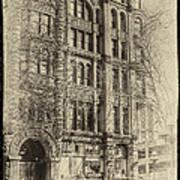 Pioneer Square In Seattle Art Print
