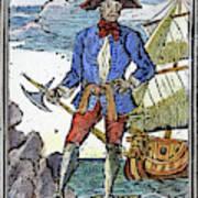 Pirate Edward England Art Print