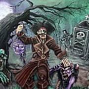 Pirate's Graveyard Art Print