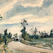 Pissarro Louveciennes Art Print