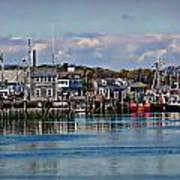 Plymouth Harbor Art Print
