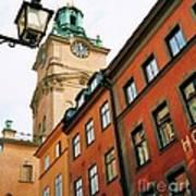 1 Pm In Stockholm Art Print