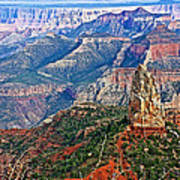Point Imperial 8803 Feet On North Rim Of Grand Canyon National Park-arizona  Art Print