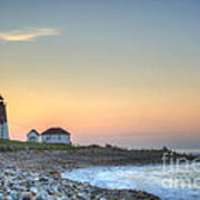 Point Judith Lighthouse Art Print
