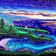 Point Lobos California China Cove Art Print