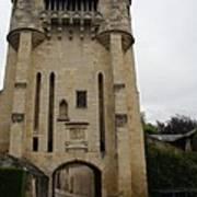 Porte Du Croux Nevers  Art Print