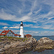 Portland Lighthouse Art Print