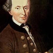 Portrait Of Emmanuel Kant Art Print