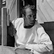 Portrait Of Gary Cooper Art Print