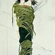 Portrait Of Ida Lvovna Rubinstein Art Print