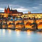 Prague Castle. Art Print