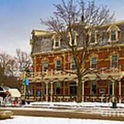 Prince Of Wales Hotel In Niagara On The Lake Art Print