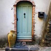 Provence Door Number 2 Art Print
