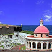 Puerto Rico, San Juan, Fort San Felipe Art Print