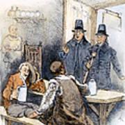 Puritan Tavern Inspection Art Print