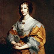Queen Henrietta Maria Art Print