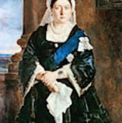 Queen Victoria Of England (1819-1901) Art Print