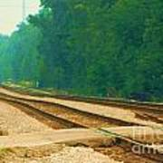 Railroad To Nowhere Art Print