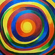 Rainbow Vertigo Art Print