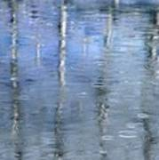 Raindrops On Reflections Art Print