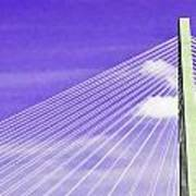 Ravenel Bridge # 2 Art Print