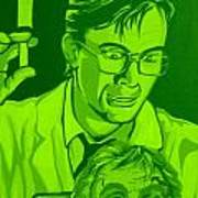Re-animator Art Print by Gary Niles