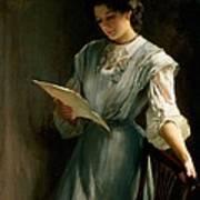 Reading The Letter Art Print