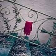 Red Glove Art Print by Joana Kruse