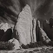 Red Rock Sentinels  Art Print